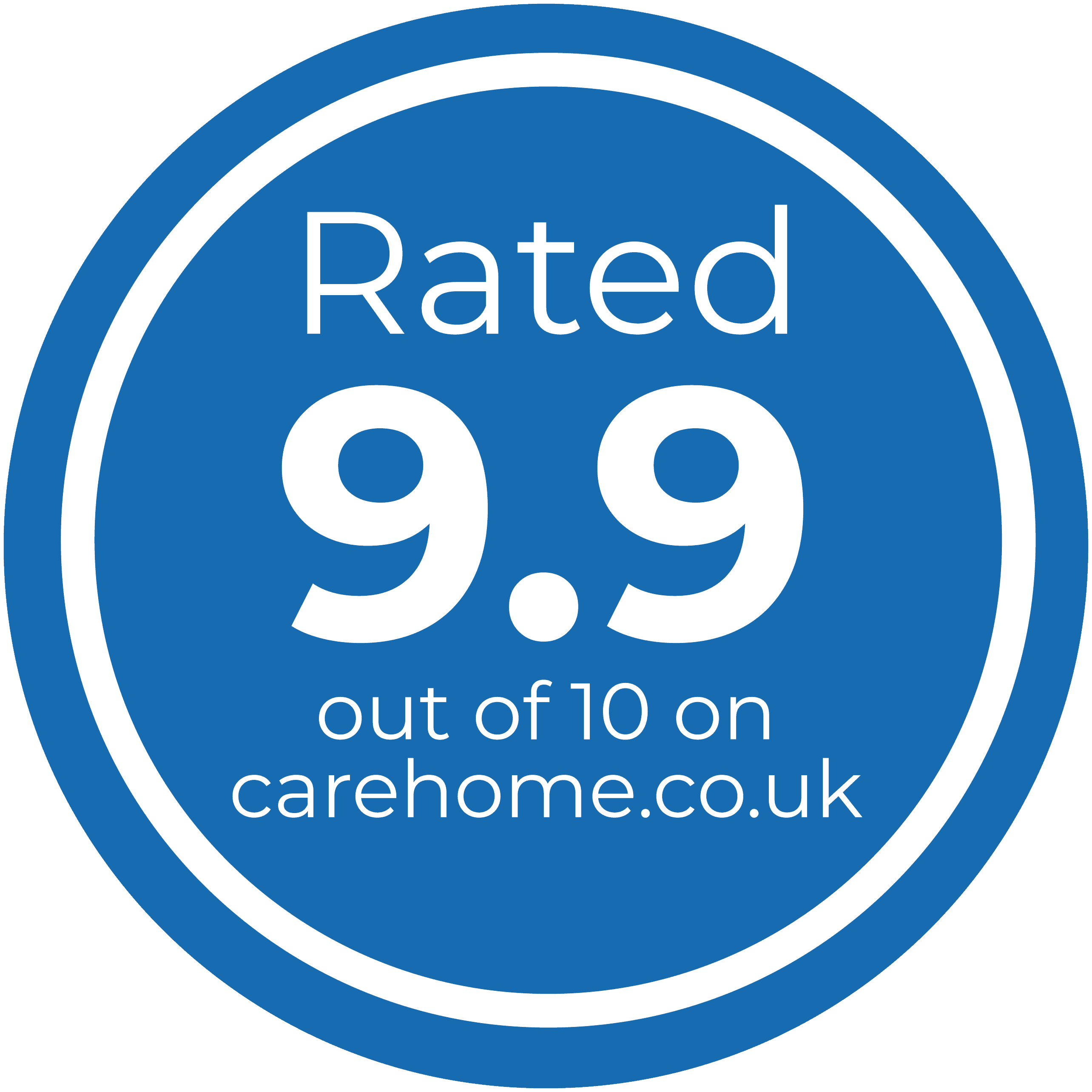 carehome.co.uk badge